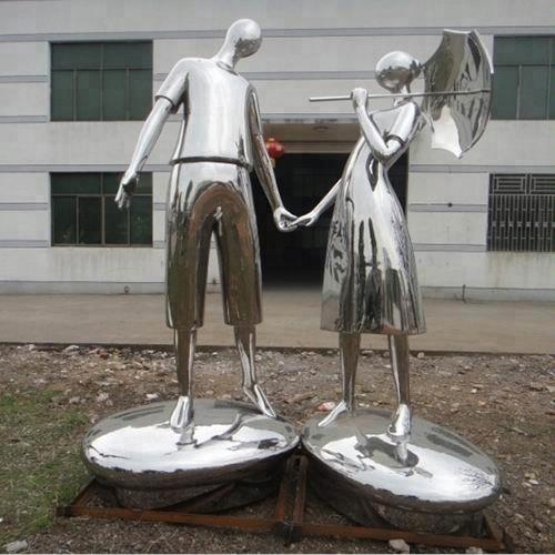 modern human body sculpture