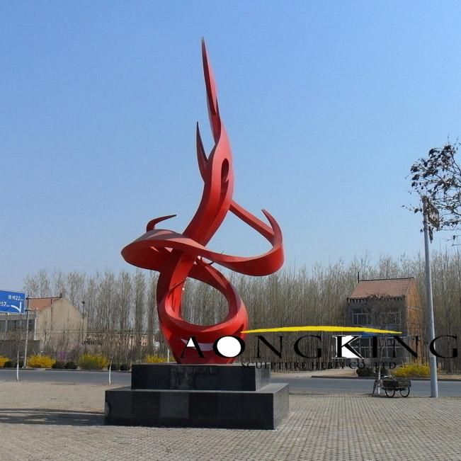 abstract garden sculptures
