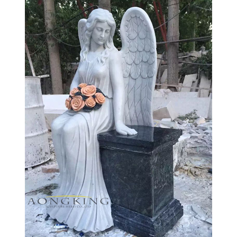 angels statues for cemeteries