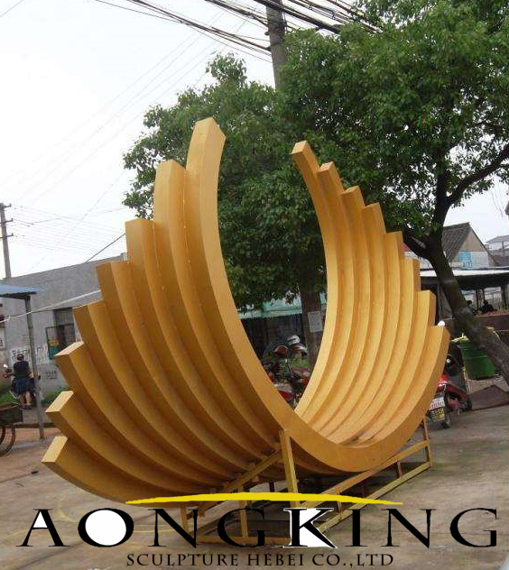 garden sculpture stainless steel