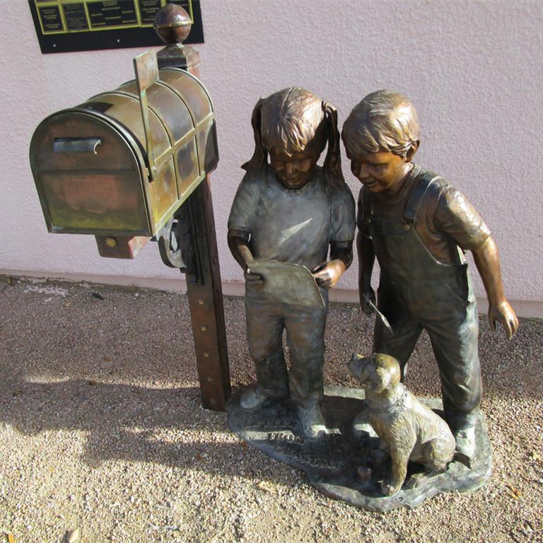 sculpture mailboxes
