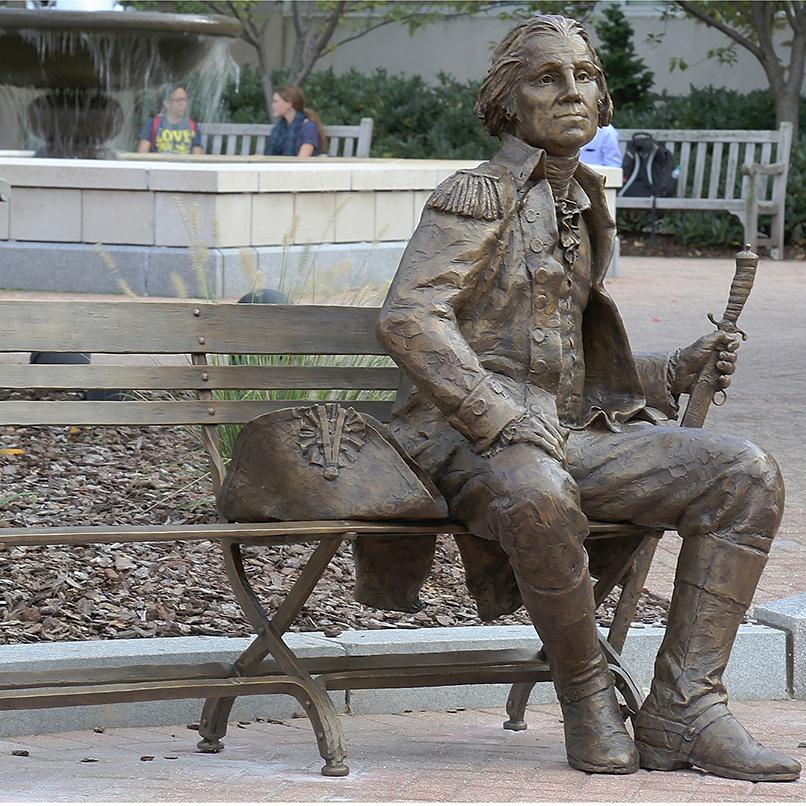 sculpture famous washington