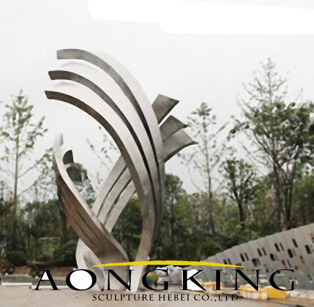 urban decoration stainless steel sculpture