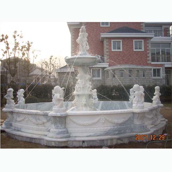 garden water sculpture