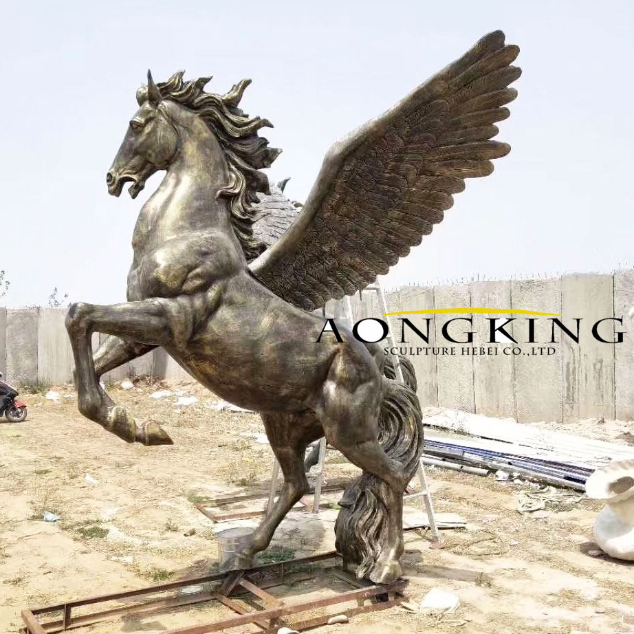fiberglass horse with wings