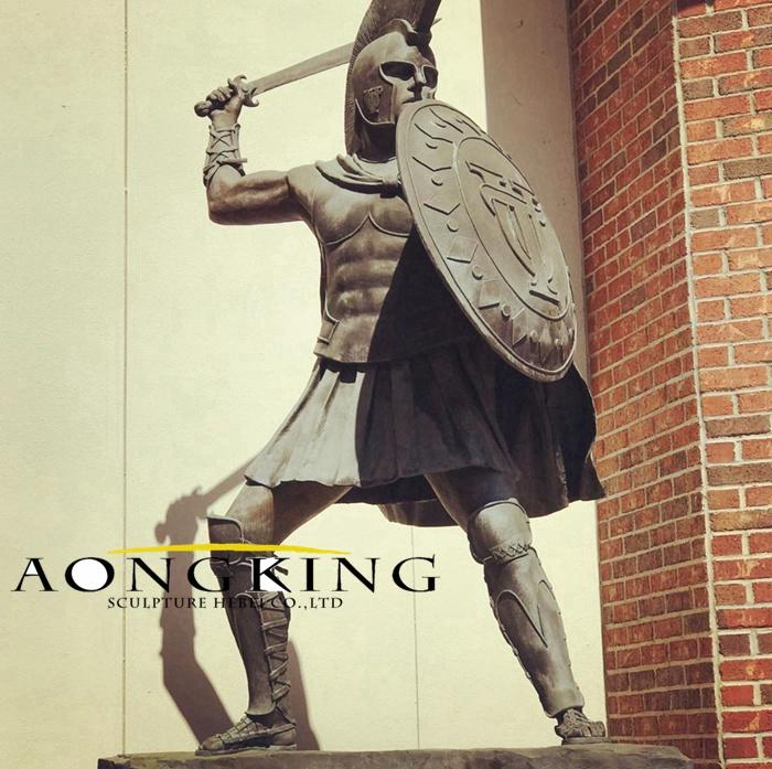 greek sculptures a men solider