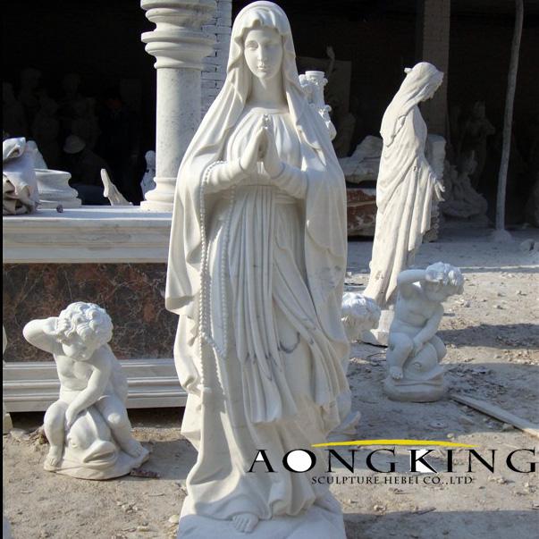 marble catholic statues