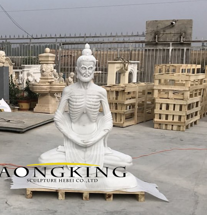marble temple statues