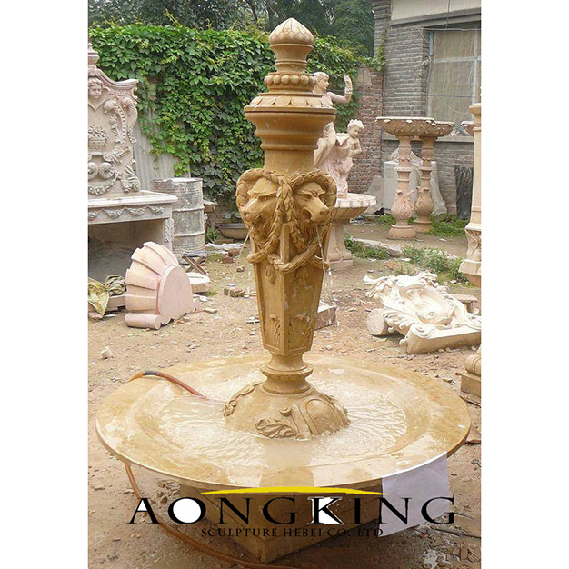 hand carved stone sculptures
