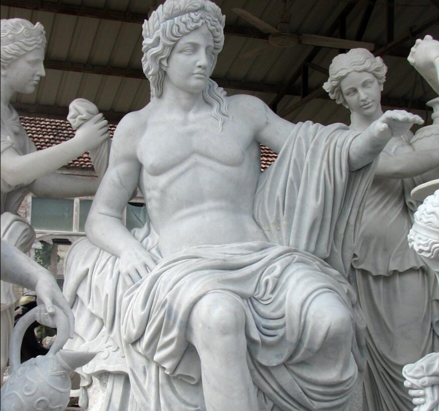 marble sculpture apollo