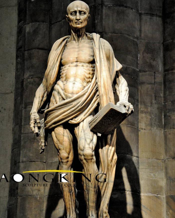 marble statues famous St. Bartholomew