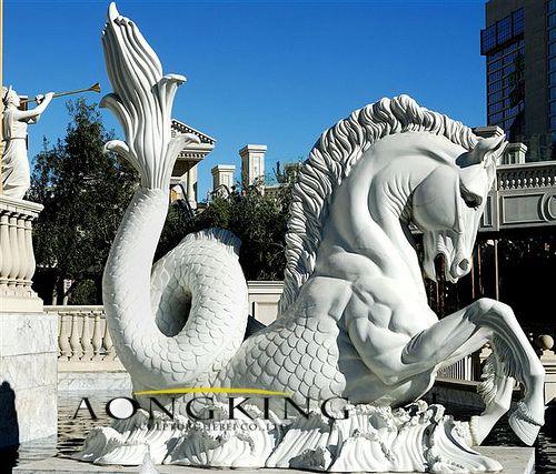 Art horse statue