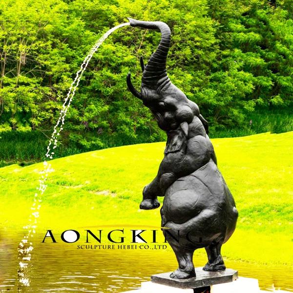 Elephant fountain outdoor
