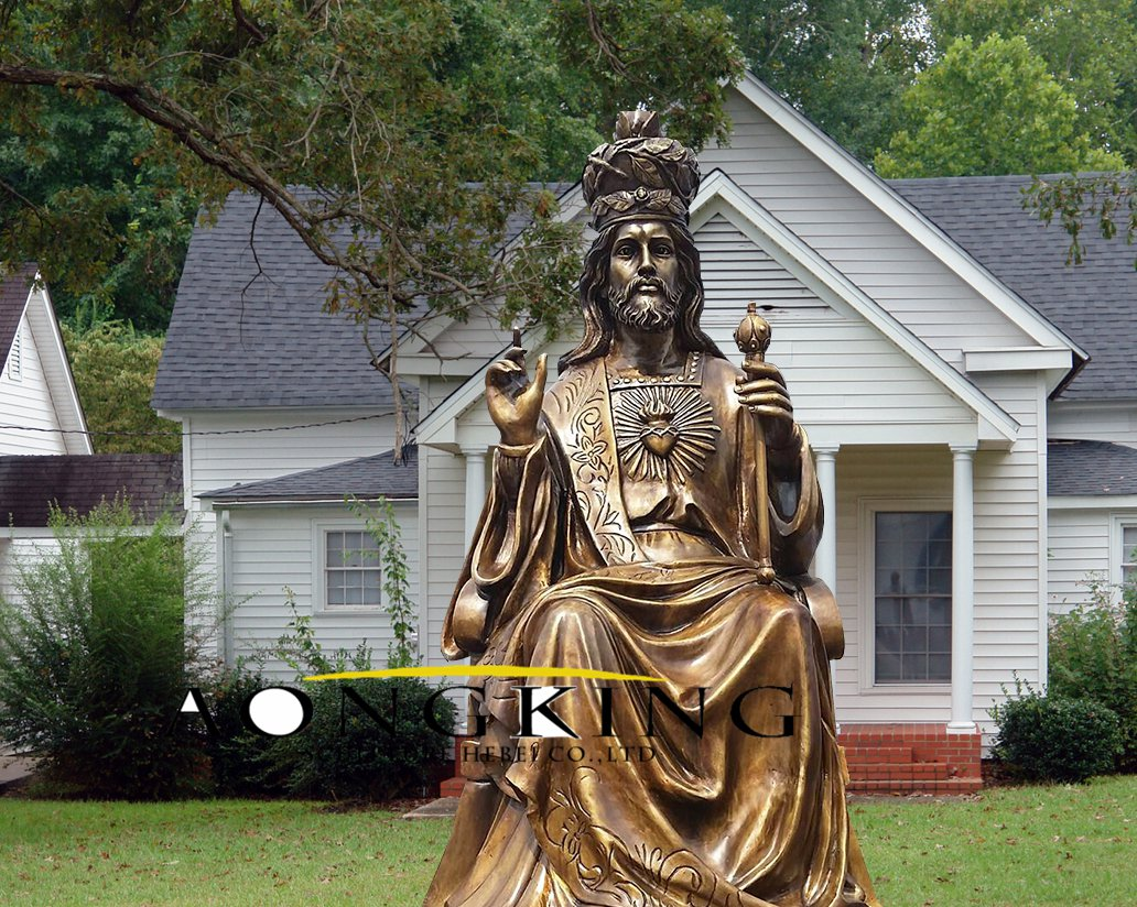 Jesus with the scepter