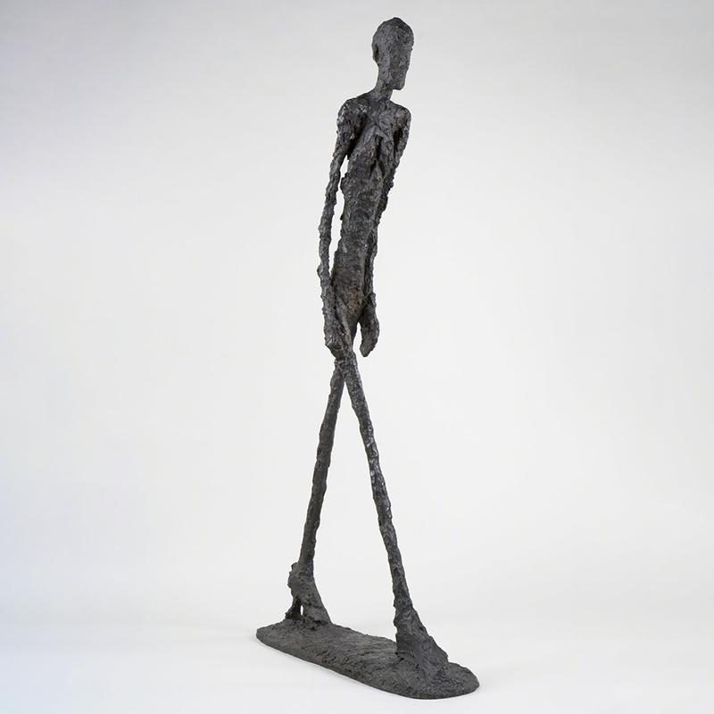 Alberto giacometti bronze sculpture