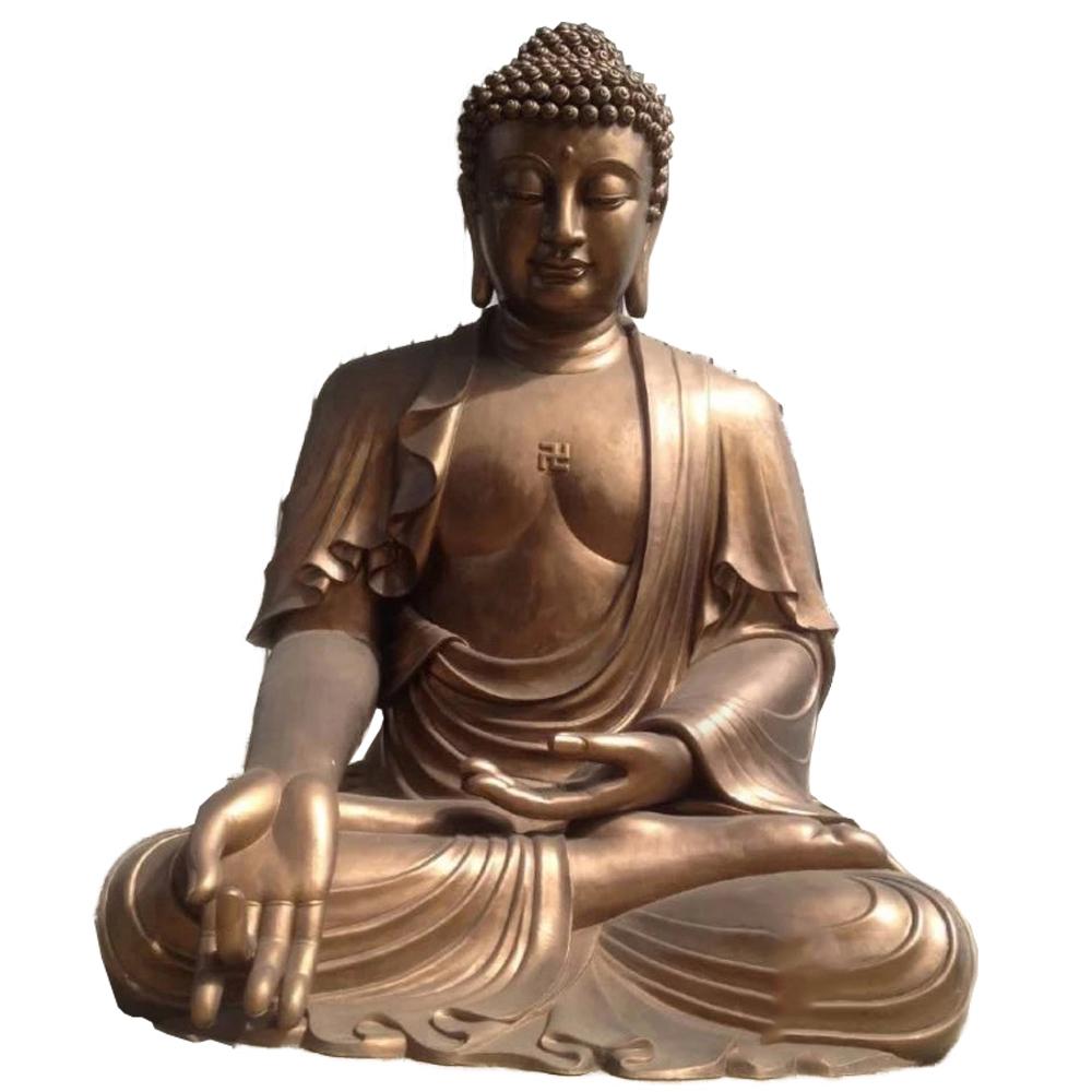 Custom buddha bronze statue
