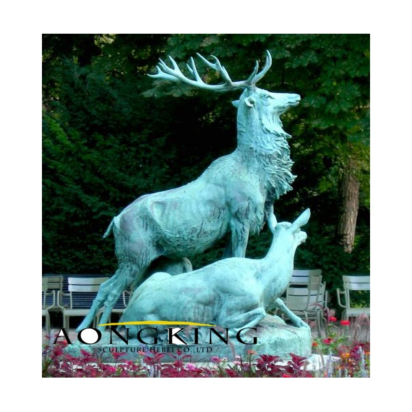 Deer statues life size