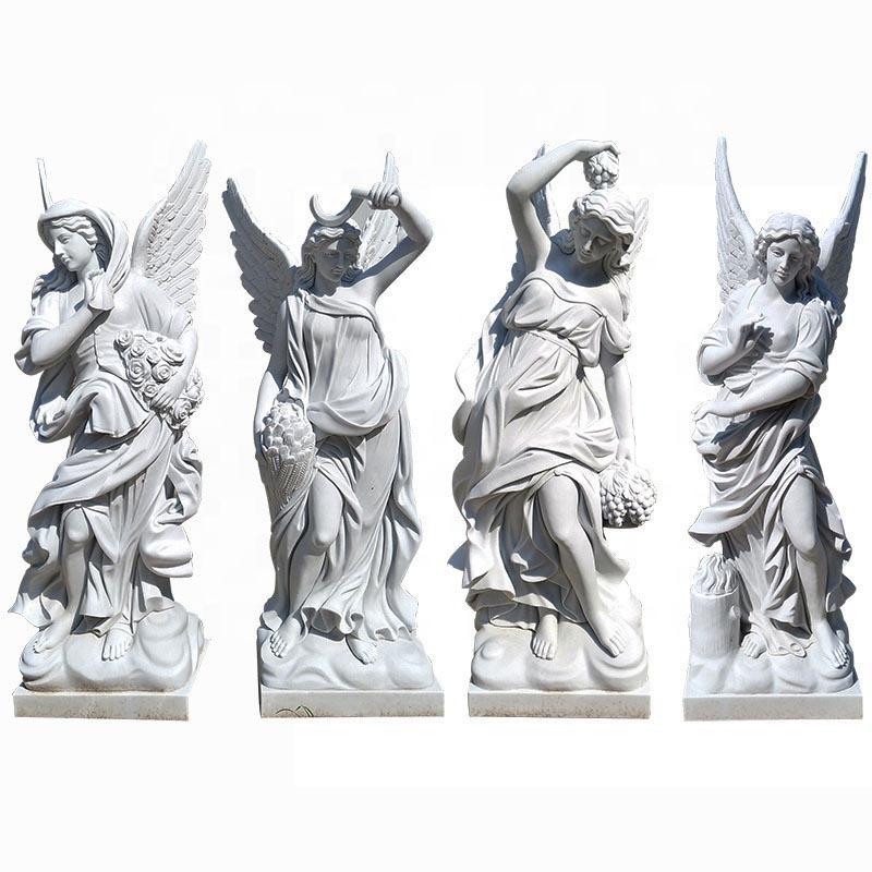 Four angel statue