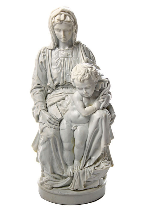 Madonna of bruges statue