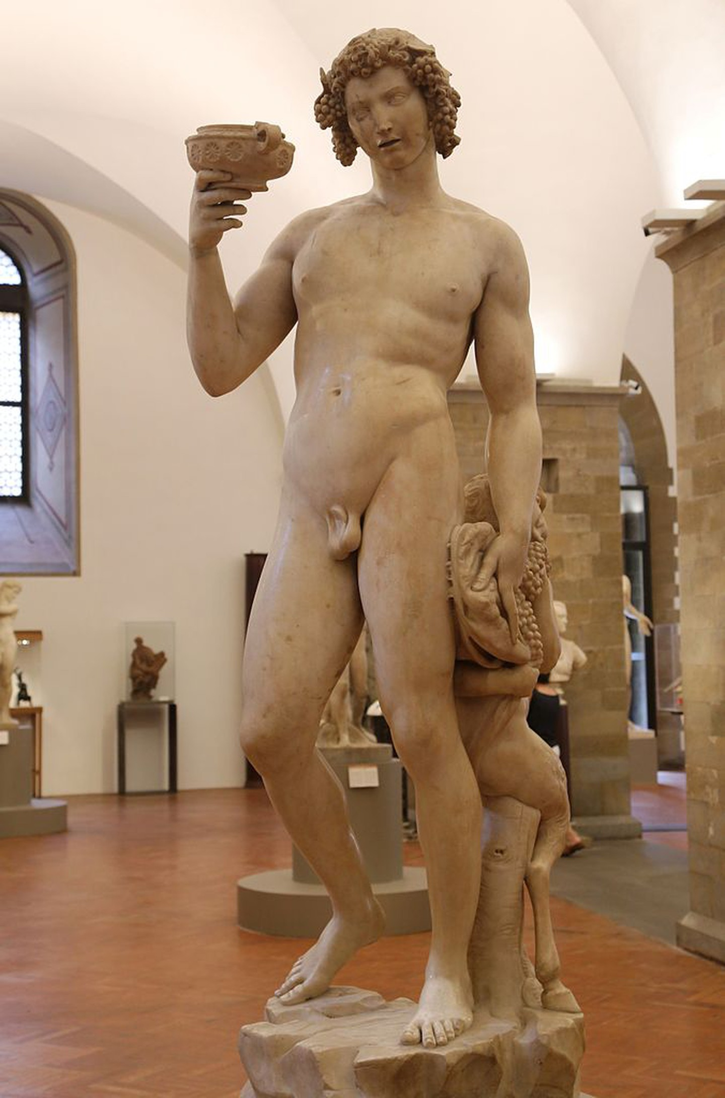Michelangelo's first large