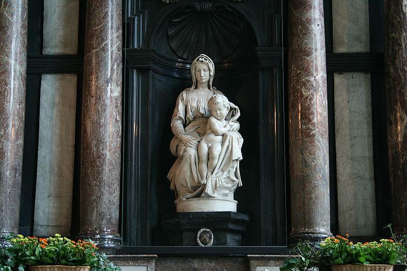 Michelangelo marble statue