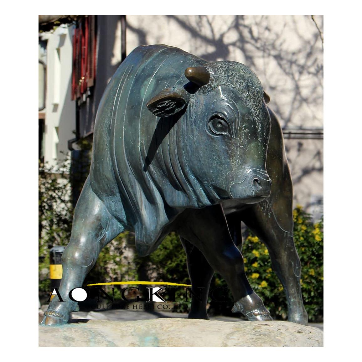 Animal bull bronze