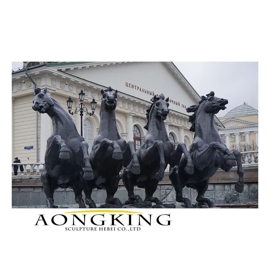 Statue city cavalry
