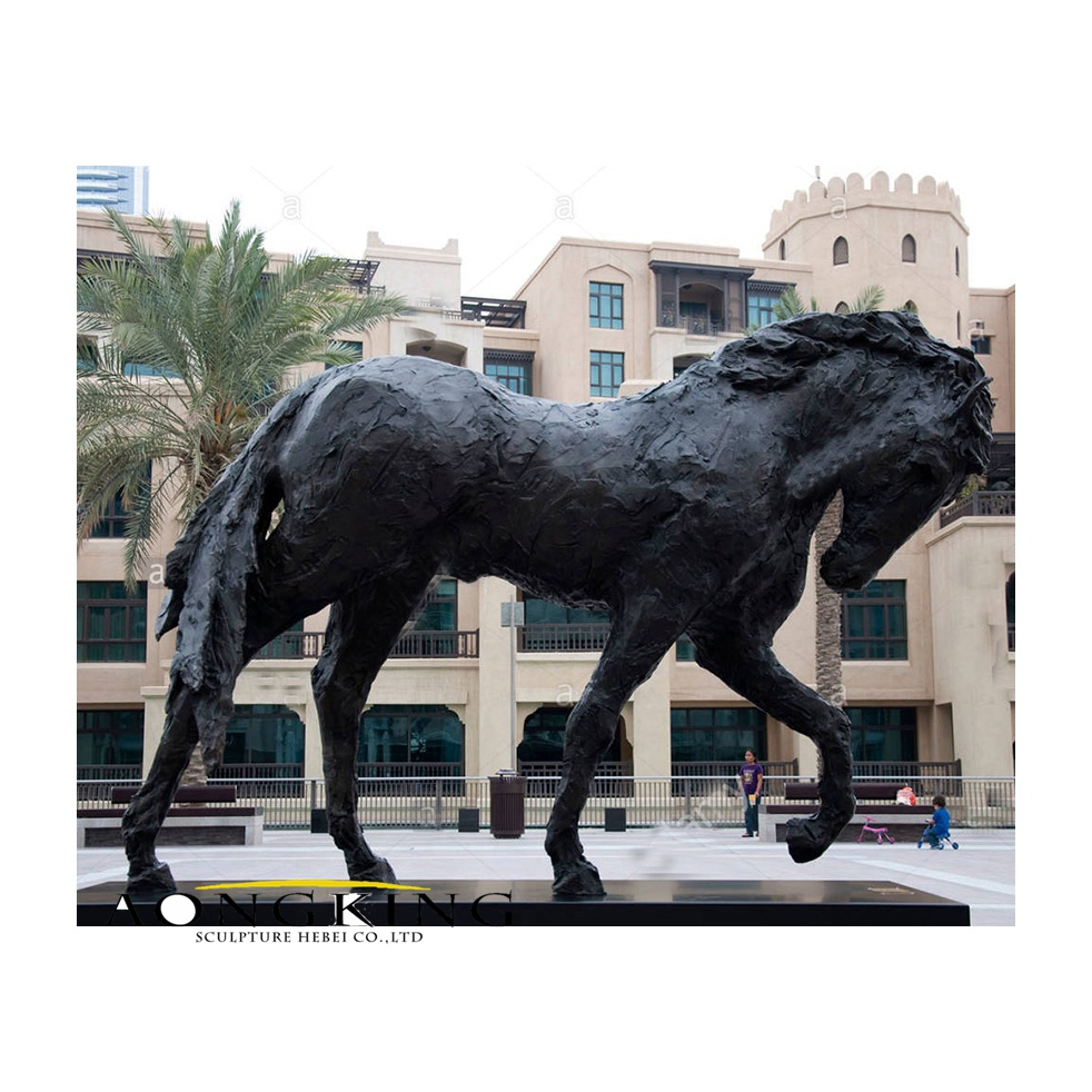Life size andalucian horse