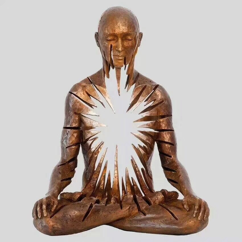 Radiance sculpture buddha sitting