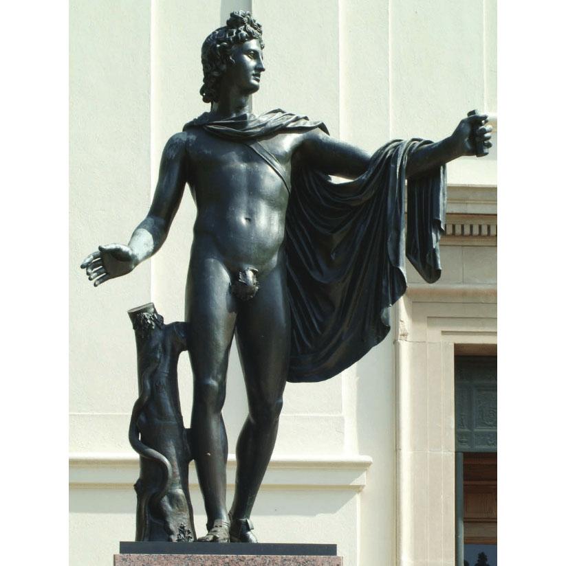 Apollo greek scuplture