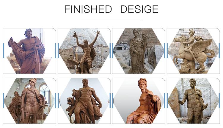 Bronze famous sculpture