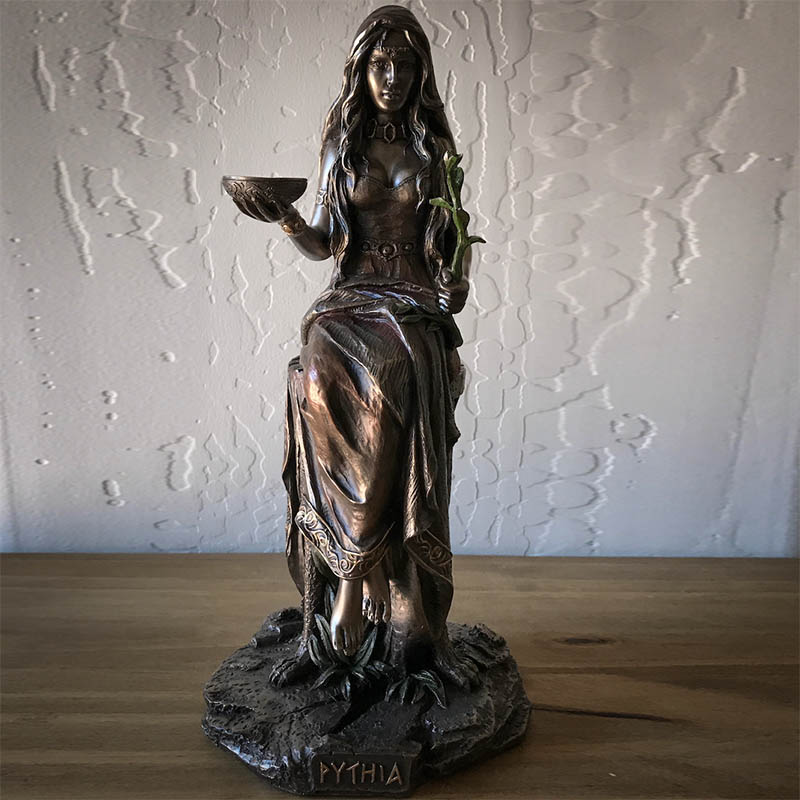Pythia Oracle of Delphi Statue