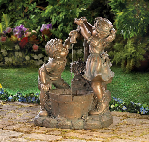 Two Child Fountain