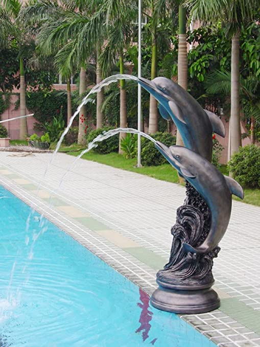 Two Dolphins Fountain