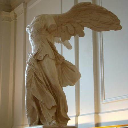 marble sculpture of samothrace