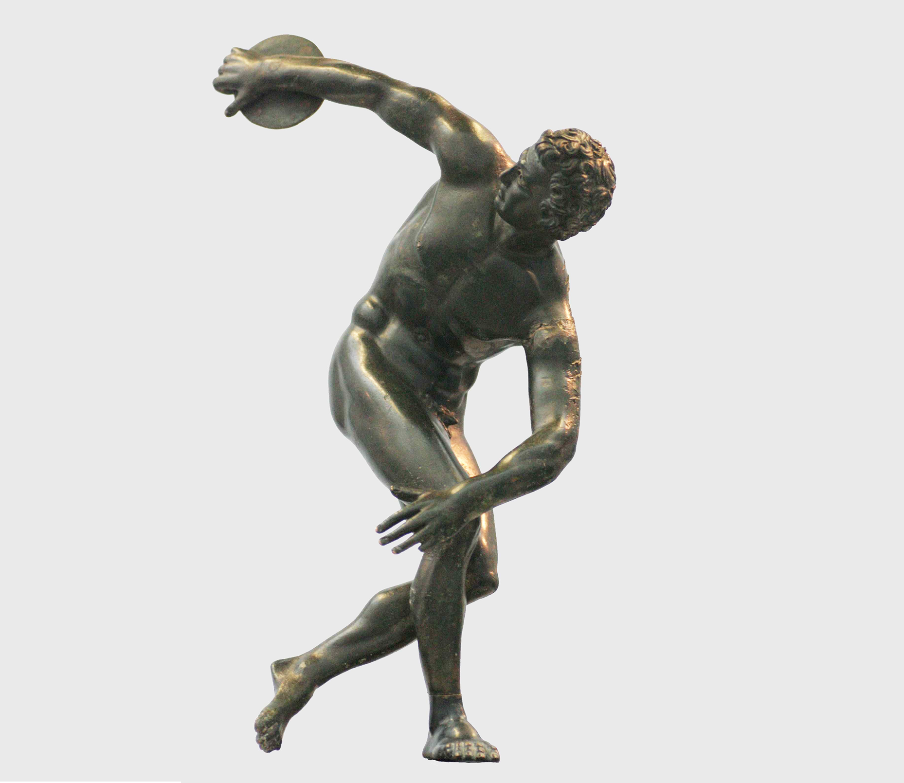 statues for sale of myron discus thrower