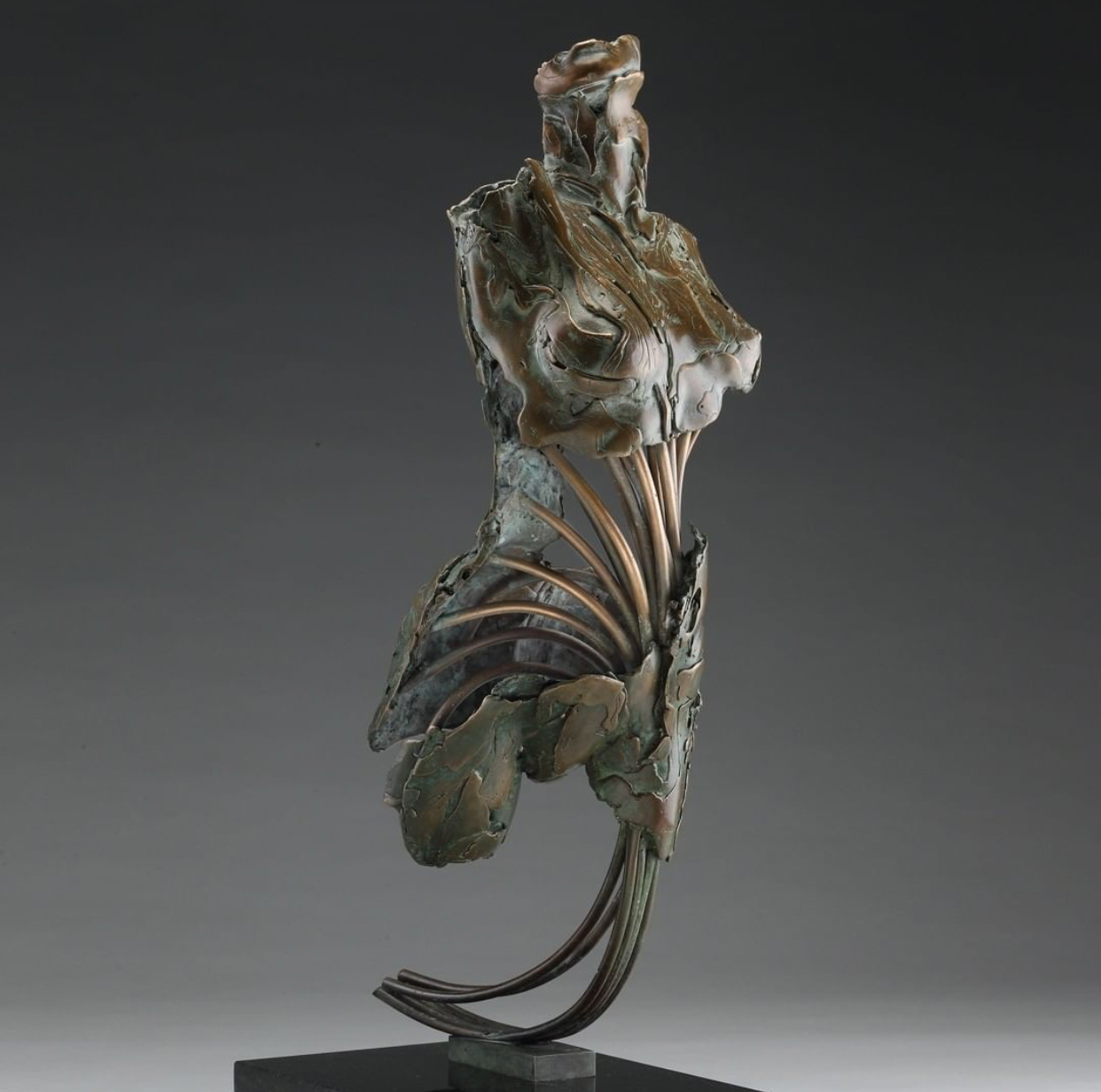 Abstract Art Angel Harachel Bronze Sculpture