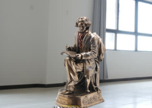 Gary oldman beethoven music composer statue, music composer sculptrues for music teacher gifts