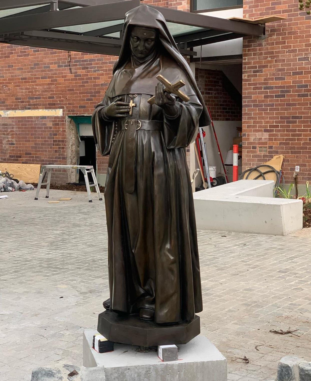 St Rita's College Clayfieldsculpture