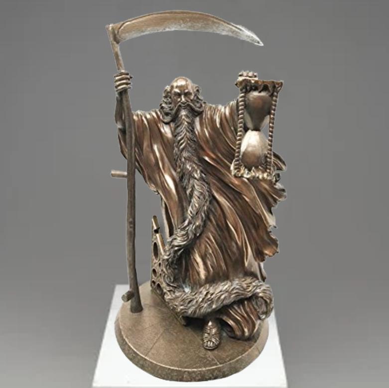 cronus greek god statue