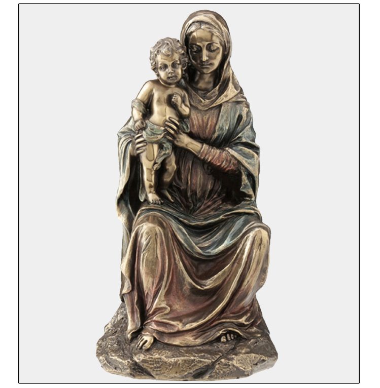 mary and jesus statue