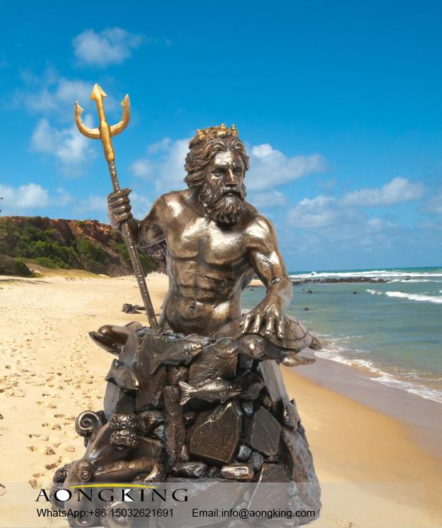 Statue Poseidon
