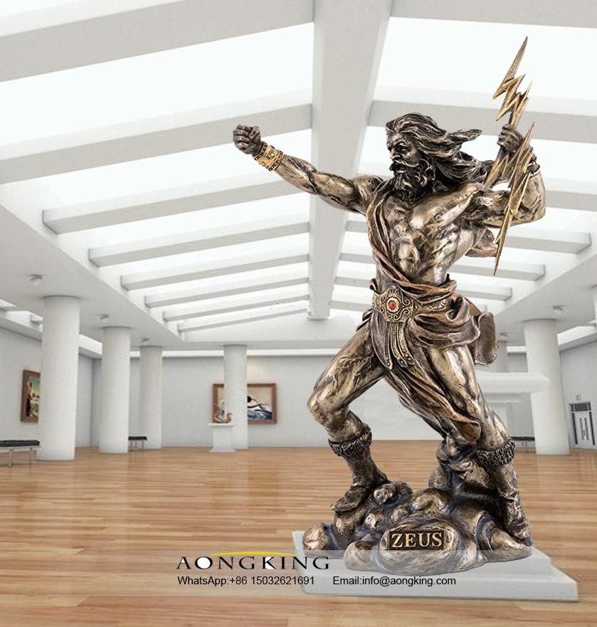 Statue Bronze Zeus