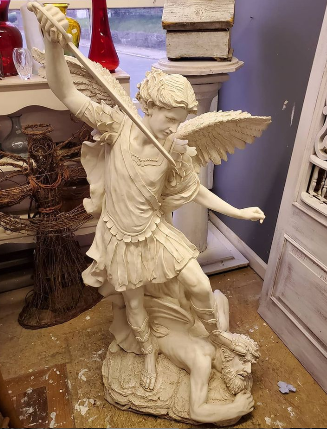 marble Saint Michael