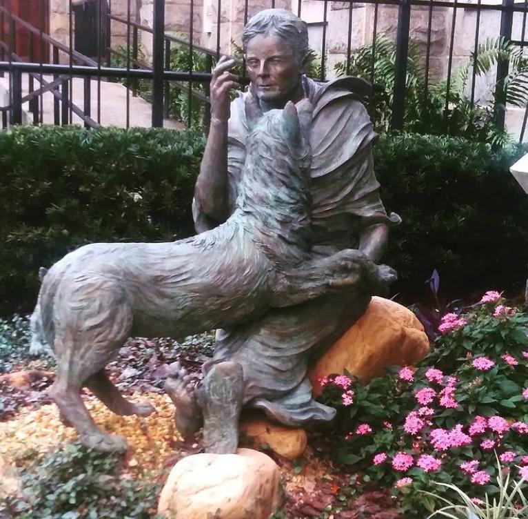 Garden Figure Sculpture