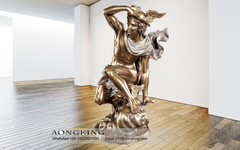 bronze statue of Jupiter