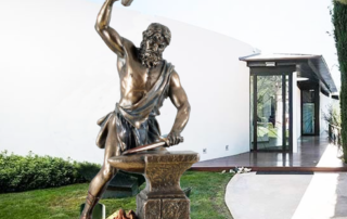 The God Of Fire And Forges Hephaestus Statue