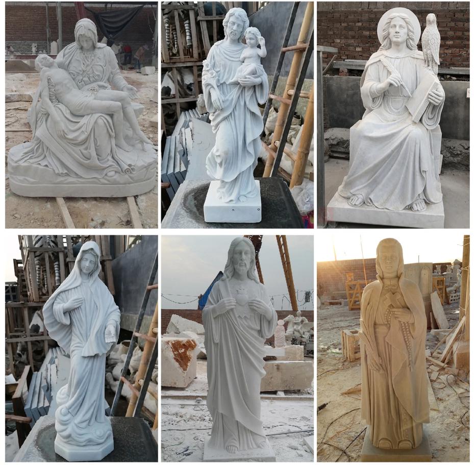 marble religious art decoration