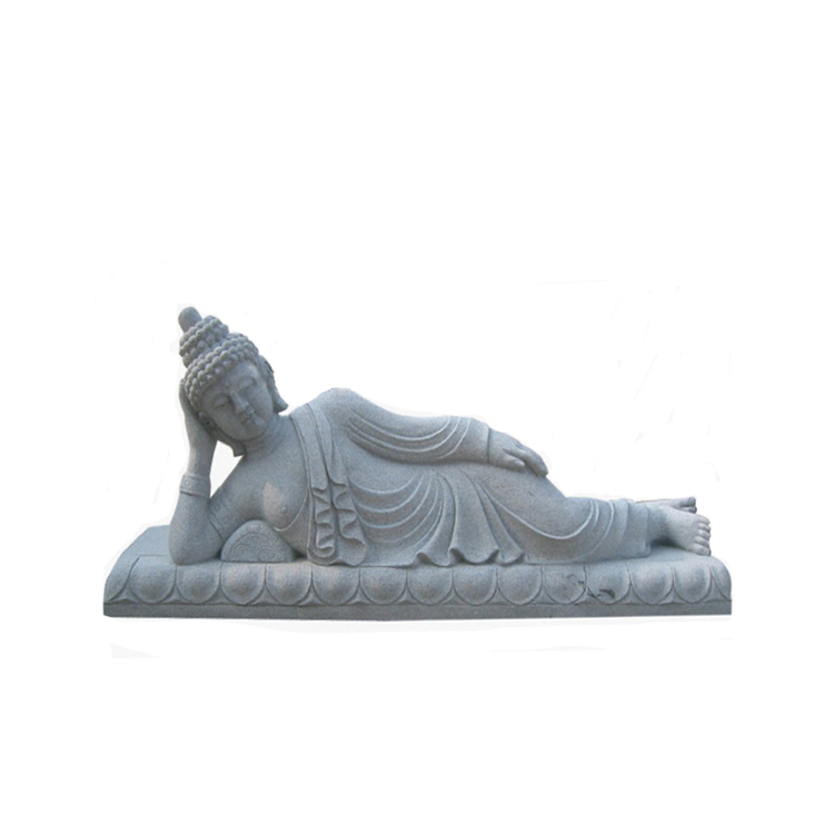 marble sleeping buddha sculpture