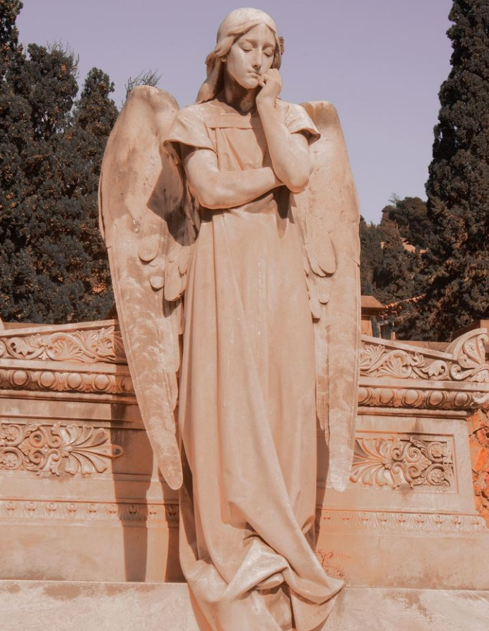 stone statues for sale, angel